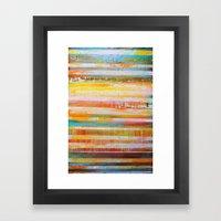 Summer Layers Framed Art Print