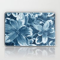 My blue leaves Laptop & iPad Skin