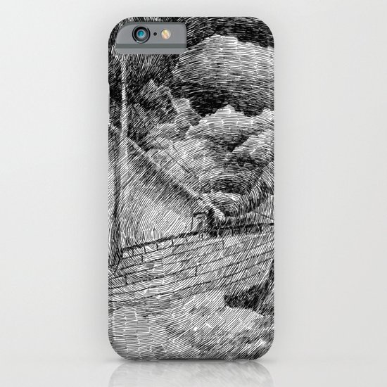 Fingerprint - Sailing iPhone & iPod Case