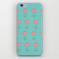Color Me Pink With Sprin… iPhone & iPod Skin