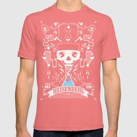 It's All In The Chemistry Mens Fitted Tee Pomegranate SMALL