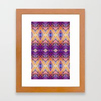 Marrakech Yellow Framed Art Print