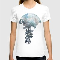 space T-shirts featuring Secret Streets II by David Fleck
