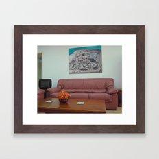 Color composition Framed Art Print