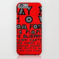 iPhone & iPod Case featuring Eye Test - JAY Z by Studio Samantha