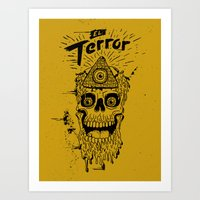 El Terror Art Print