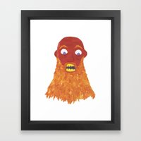 There Was An Old Man Wit… Framed Art Print