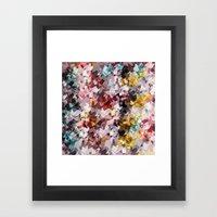 Magic gems Framed Art Print
