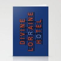 Divine Lorraine Hotel Stationery Cards