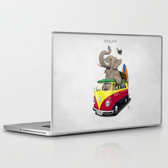 Pack the Trunk Laptop & iPad Skin