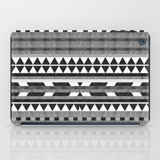 DG Aztec No.1 Monotone iPad Case