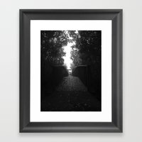 Go Forth Framed Art Print