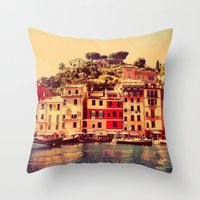 Buongiorno Portofino! Throw Pillow