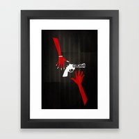 CHICAGO Minimal Musicals Framed Art Print