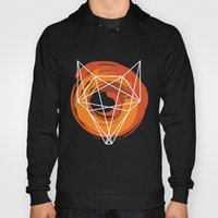 Geometric Fox Hoody