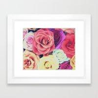 RoseLove Framed Art Print