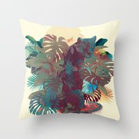 Panther Square Throw Pillow