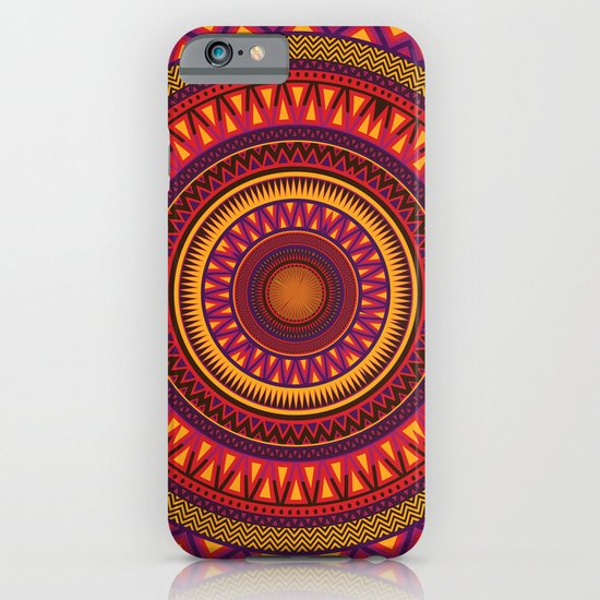 Mandala Aztec Pattern 2 iPhone & iPod Case