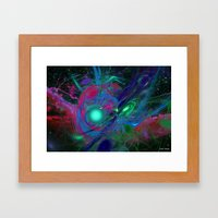 Emerging From Chaos Framed Art Print