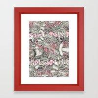Lobster Dynasty  Framed Art Print