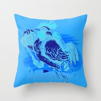 Aerial Perspective Throw Pillow