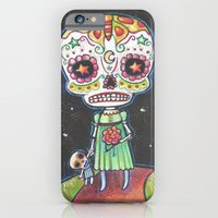 iPhone & iPod Case featuring Sugar Skull by Kristin Barr