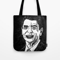 40. Zombie Ronald Reagan Tote Bag
