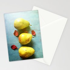 Three Pears Stationery Cards
