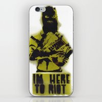 WRG - Weekly Riot Group iPhone & iPod Skin