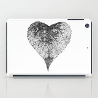 Heart B&w iPad Case