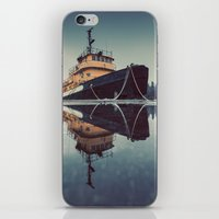 Reflecting Tugboat iPhone & iPod Skin