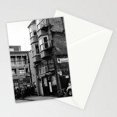 crowded street Stationery Cards