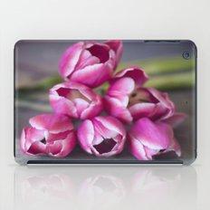 Beautiful Red Tulips iPad Case