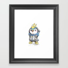 Bow down to thy Emperor!   Framed Art Print