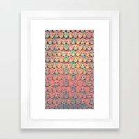 CALAVERITAS Framed Art Print