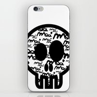 MOOIMOOI SKULL iPhone & iPod Skin