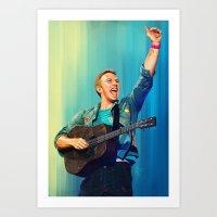 Chris Martin - MX Art Print