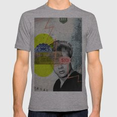 Public Figures - James Dean Mens Fitted Tee Athletic Grey SMALL