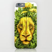 iPhone & iPod Case featuring Dandylion ZOOM by BPARSH