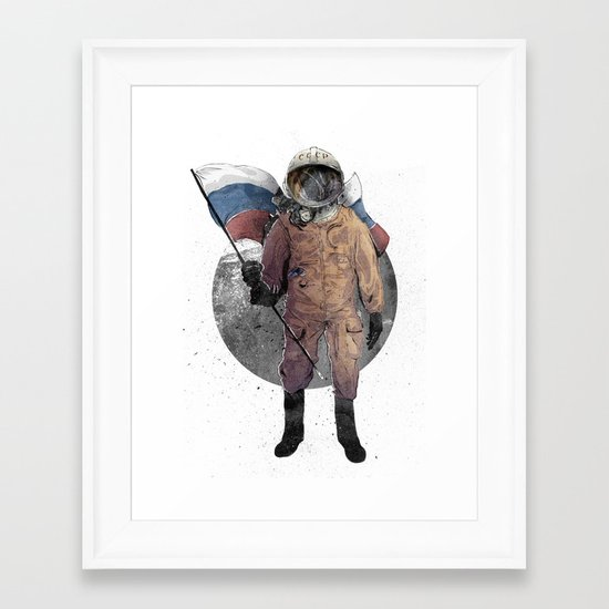 I looked, and I Looked Framed Art Print
