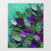 BLOOMING BEAUTIFUL 1 - F… Canvas Print