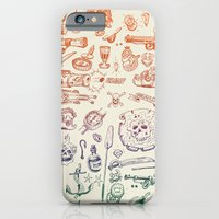 iPhone & iPod Case featuring all hands on deck by pakowacz