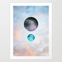 Shimmer Art Print