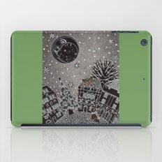 'Twas a Moonlit Winter Night iPad Case