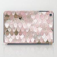 SUMMER MERMAID NUDE ROSEGOLD by Monika Strigel iPad Case