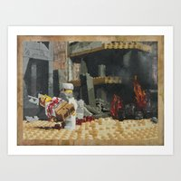 Death of the Innocent, Khost, Afghanistan Art Print
