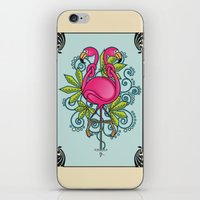Knot A Flamingo iPhone & iPod Skin