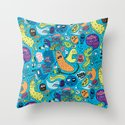 Gettin' Loose Pattern Throw Pillow