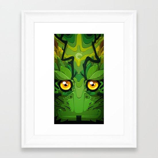 Oolong Framed Art Print