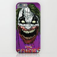 iPhone & iPod Case featuring Joker Zombie by Dave Franciosa
